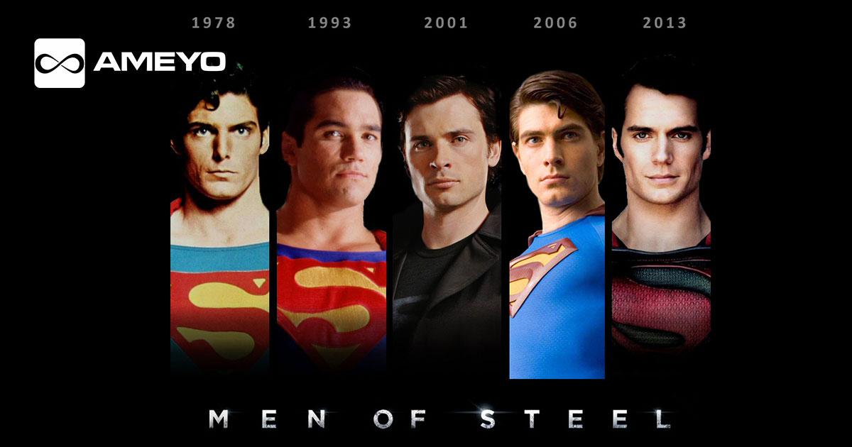 superman-evolution-actors