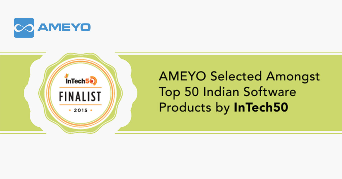 Ameyo_Selected_Amongst_Top_50_Indian_Software_Products_by_InTech50