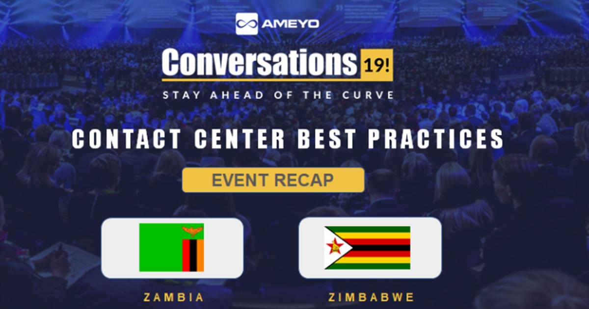 Conversations'19 Tour Reaches Zambia and Zimbabwe