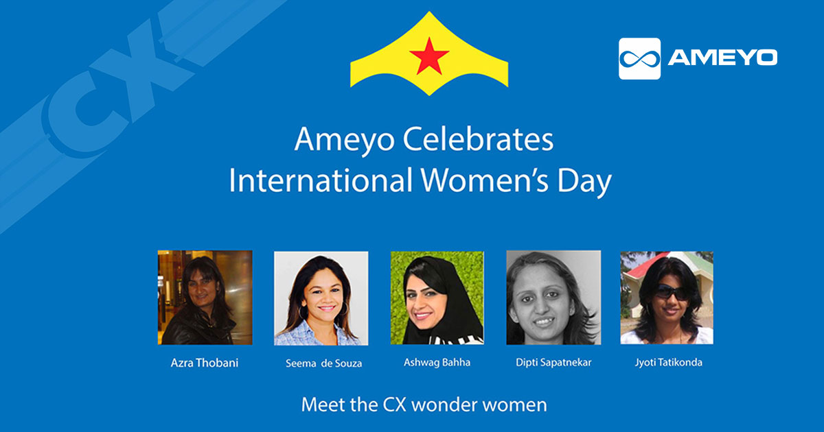 Ameyo Celebrates CX Wonder Women This International Women's Day