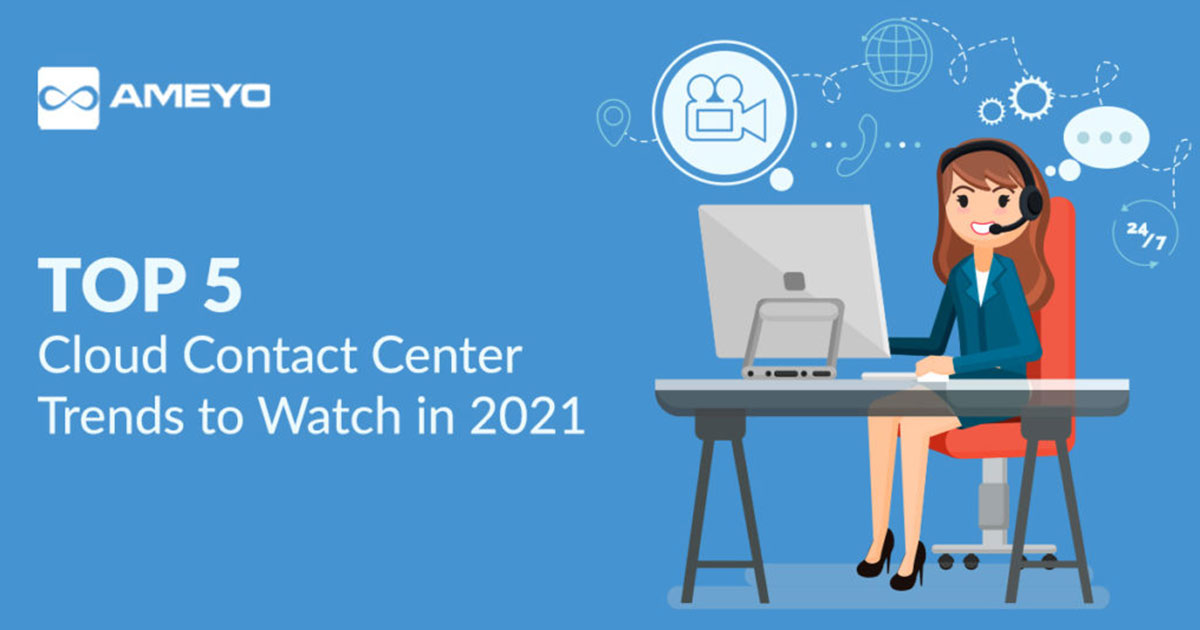 Top 5 Cloud Contact Center Trends To Watch in 2021