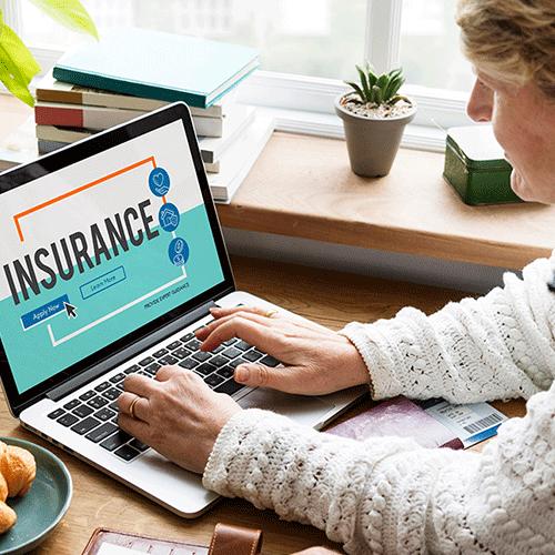 Insurance contact center