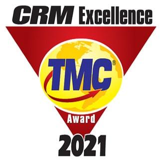 Ameyo won CRM award by TMC