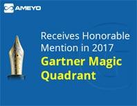 Ameyo won gartner-2017